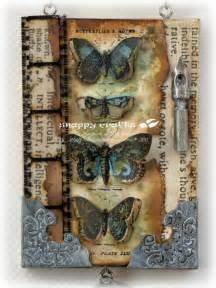 Tim Holtz Stamp Butterfly