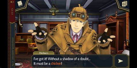 sherlock holmes dgs 3ds game aceattorney hilarious