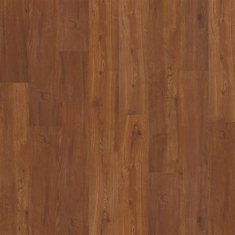 shaw flooring at lowes shop shaw 15 7 in x 48 in russet adhesive luxury vinyl plank at lowes