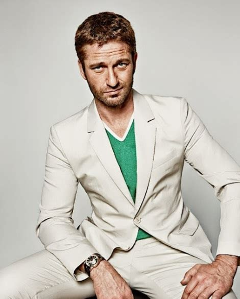Gerard Butler For GQ Russia Oh Yes I Am
