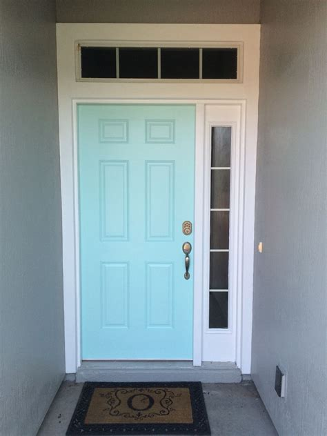 front door color tame teal by sherwin williams i this is