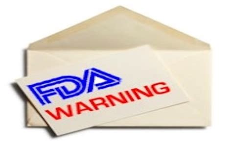 fda warning letters diverse mix of food manufacturers get fda warning letters