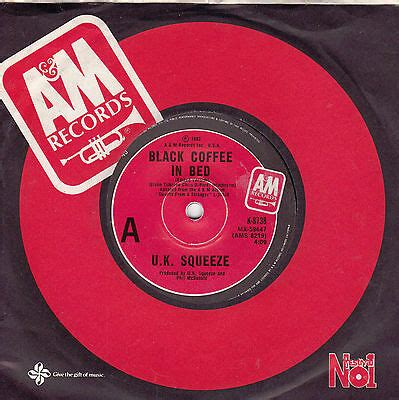 Album sweets from a stranger. U.K. SQUEEZE Black Coffee In Bed / The Hunt 45 | eBay