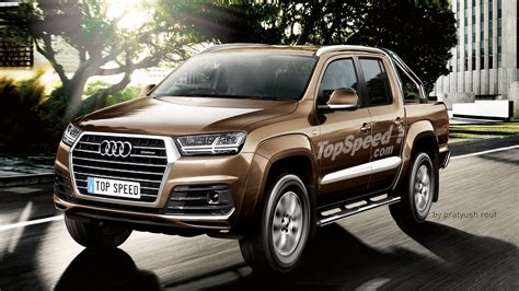 audi pickup picture  truck review  top speed