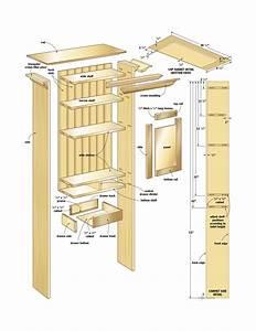 woodshop wall cabinet plans | diy