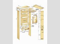 Bathroom wall cabinet – Canadian Home Workshop