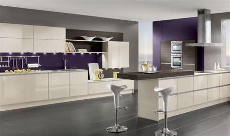 cuisine aubergine et gris cuisine couleur aubergine inspirations violettes en 71 idées