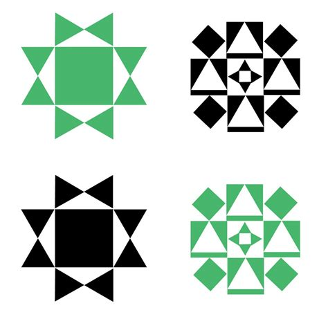 Free Barn Quilt Patterns by Printable Barn Quilt Wall Banners Delightfully Noted