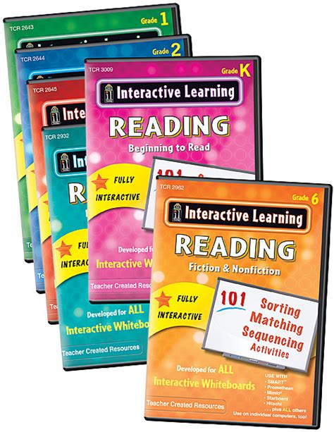Interactive Learning Reading Games Set (7 Bks) Tcr9627