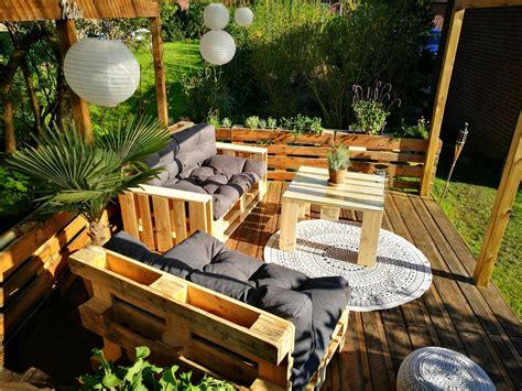 garten terrasse bauen ᐅ terrasse aus paletten selber bauen palettenm 246 bel diy