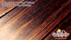 Cali Bamboo Fossilized U2122 Antique Java Wide Plank Bamboo