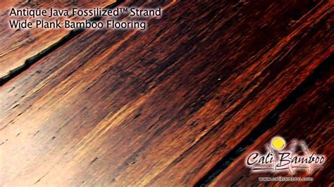 Cali Bamboo Fossilized? Antique Java Wide Plank Bamboo