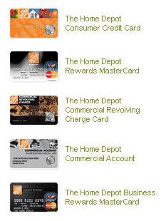 home depot credit card payment login guide