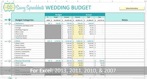 wedding budget breakdown spreadsheet google spreadshee