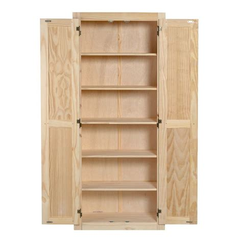 features unfinished  shelves  fixed