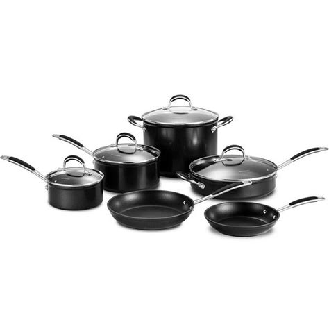momscook signature induction compatible nonstick  piece cookware set  shipping today