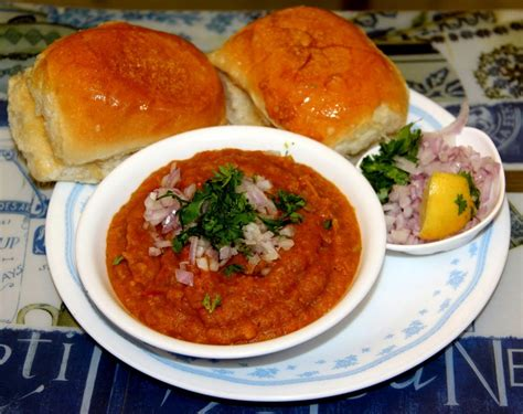 bhaji pav indian food india paav dishes bhaaji juhu most eat try spicy recipe beach famous dish maharashtra fast pune