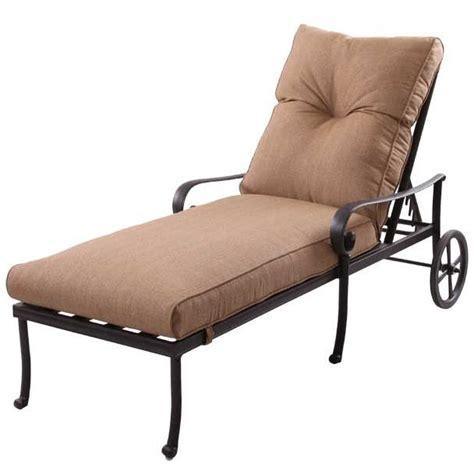 patio furniture chaise lounge cast aluminum santa