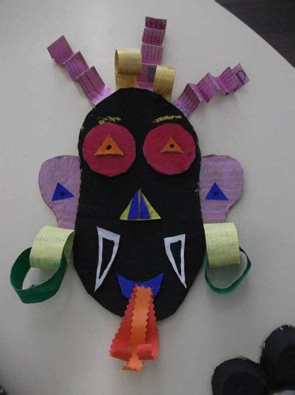 afrikanische masken basteln africa m 224 scara afrika projects