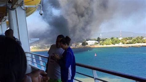 Royal Caribbean Cruise Ship Catches Fire Mid-Trip - ABC News