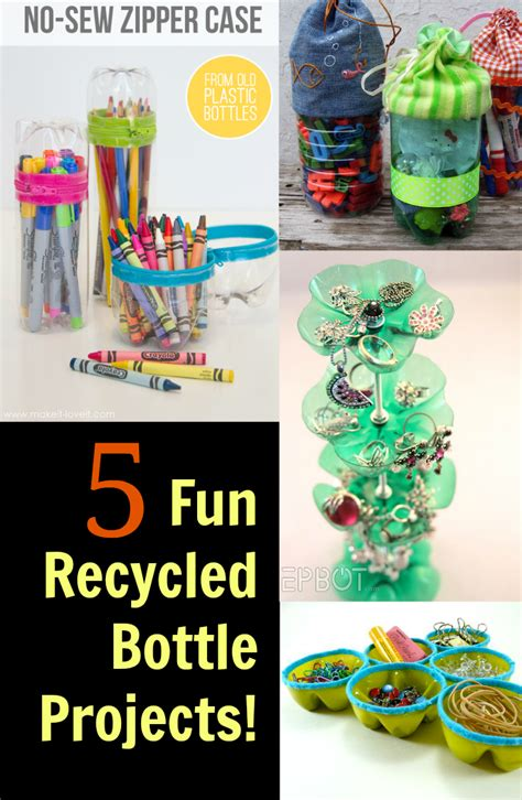 fun recycled bottle projects discountqueenscom