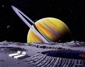 Saturn Painting