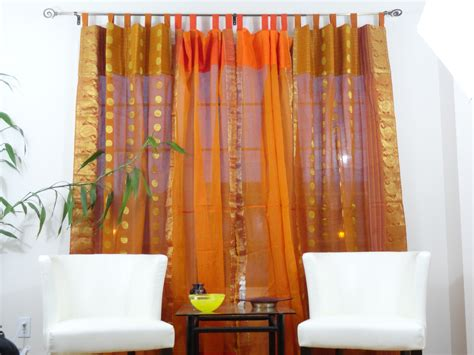 15 Best Ideas Orange Silk Curtains