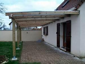 Idee De Pergola En Bois : pergola toiture polycarbonate ~ Melissatoandfro.com Idées de Décoration