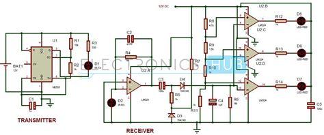 reverse parking sensor circuit  car security system