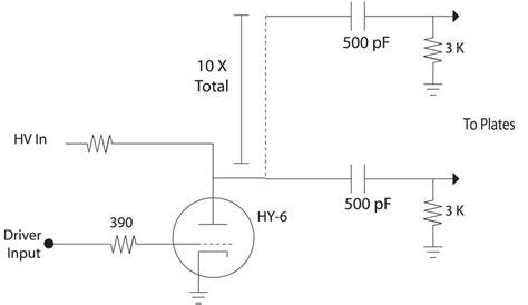 circuit diagram for capacitor bank scientific