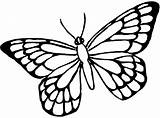 Butterfly Coloring Clipartmag sketch template