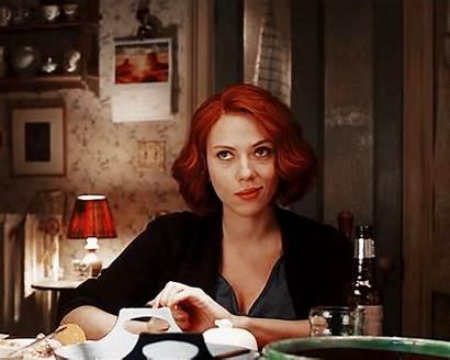 Scarlett Widow Natasha Romanoff Smirk Bruce Marvel