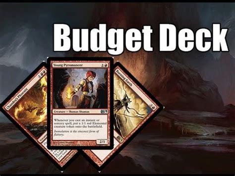 cheap deck mtg mtg budget deck tech mono rdw