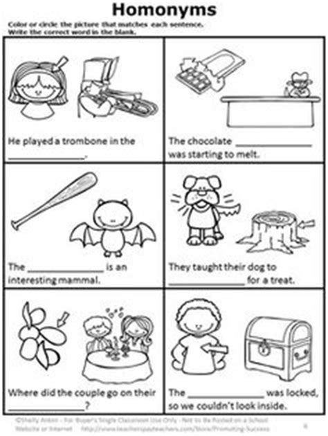 1000 images about homophones multi meaning word ideas