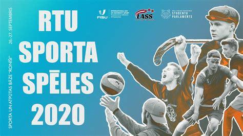 RTU sporta spēles 2020 | Rīgas Tehniskā universitāte