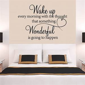 Quote wall stickers for bedrooms : Heart family wonderful bedroom quote wall stickers art