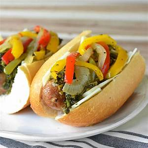 Philly Style Italian Sausage and Pepper Sandwiches + a
