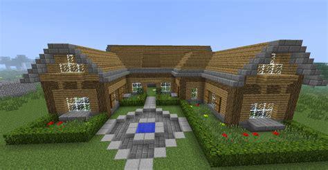 minecraft maison en bois minecraft maison en bois et en