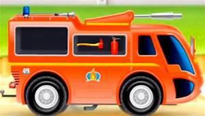 Petite Voiture Enfant : m petite voiture de pompier dessin anim pour les ~ Melissatoandfro.com Idées de Décoration