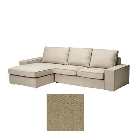ikea chaise lounge cover ikea kivik 2 seat loveseat sofa w chaise lounge slipcover