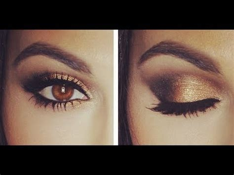 gold smokey eye tutorial eye makeup tutorial teni