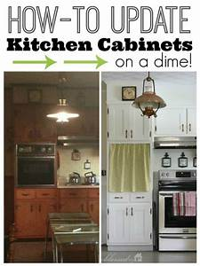 hometalk update kitchen cabinet doors on a dime With best brand of paint for kitchen cabinets with wall art outdoor