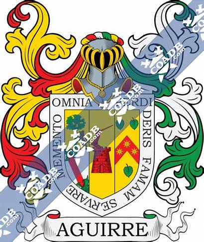 Aguirre Arms Coat Crest History