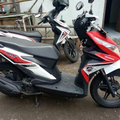 Beat Modif 2017 by Honda Beat 2017 Merah Mulus Motorbikes On Carousell