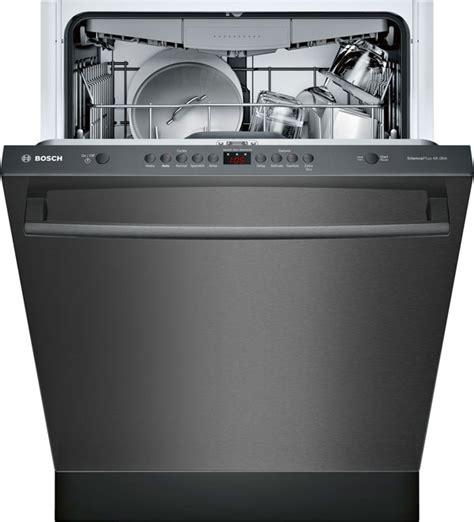 bosch  black stainless steel built  dishwasher