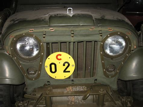 ma winch canvas cover  military vehicle message