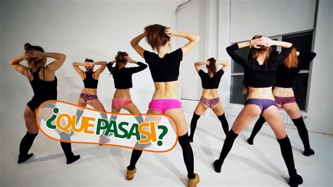 Que Pasa Bailas Twerking Youtube