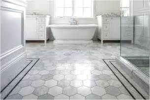 cool honeycomb shaped flooring tiles for white bathroom feat glass shower enclosure and paired