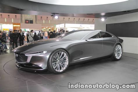 Mazda Vision Coupe Concept Front Three Quarters Left Side