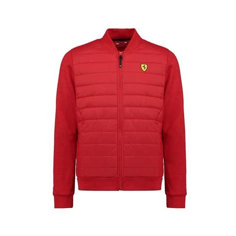 Scuderia ferrari formula 1 men's 2018 black softshell jacket. Scuderia Ferrari F1 Mens Hybrid Padded Bomber Jacket Red | FERRARI JACKET \ FERRARI JACKET MEN ...